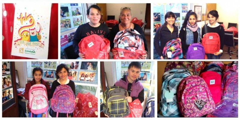 Mochilas para tod@s l@s chic@s!